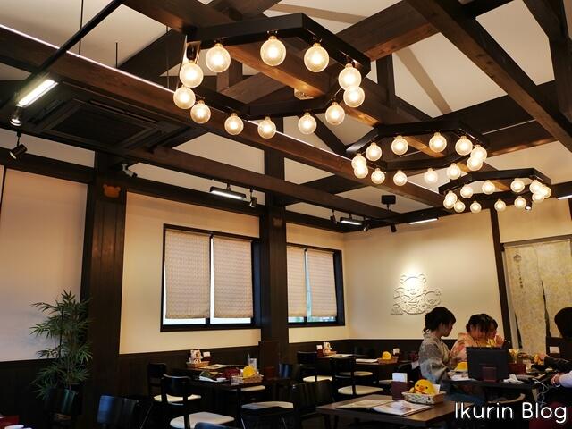 京都嵐山りらっくま茶房「店内」イクリンブログ