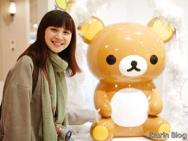リラックマストア大阪あべの・店内リラックマ写真画像・イクリンブログ