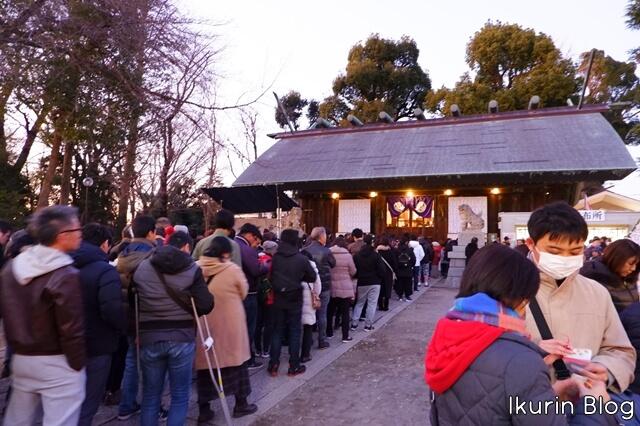 埼玉県所沢市 所沢神明社 境内 社殿 イクリンブログ