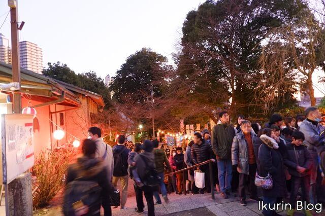 埼玉県所沢市 所沢神明社 境内 階段 イクリンブログ