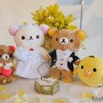 結婚誓約式「リラックマと結婚指輪の写真」イクリンブログ