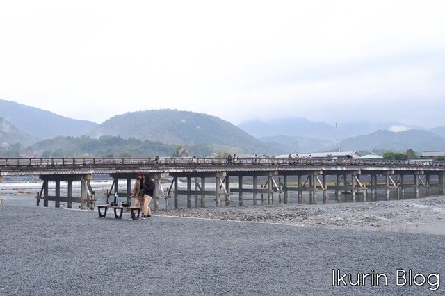 京都嵐山「渡月橋」イクリンブログ