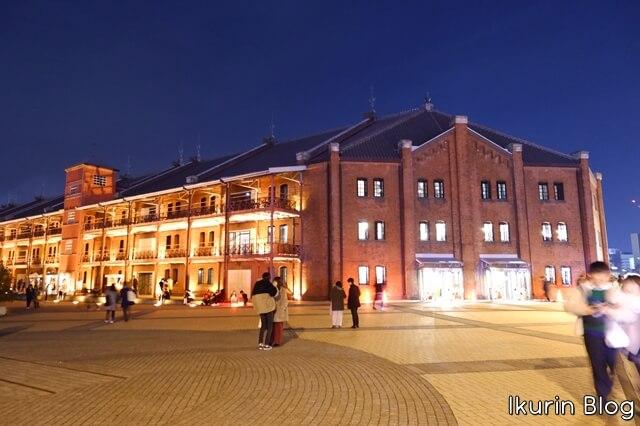 横浜みなとみらい「赤煉瓦広場」イクリンブログ