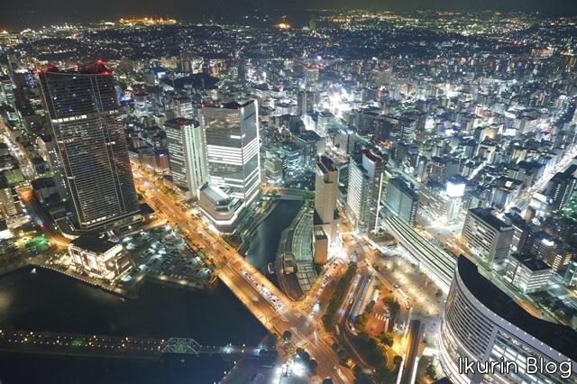 横浜みなとみらい「展望台夜景」イクリンブログ