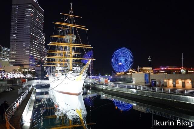 横浜みなとみらい「日本丸」イクリンブログ