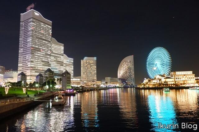 横浜みなとみらい「夜景」イクリンブログ
