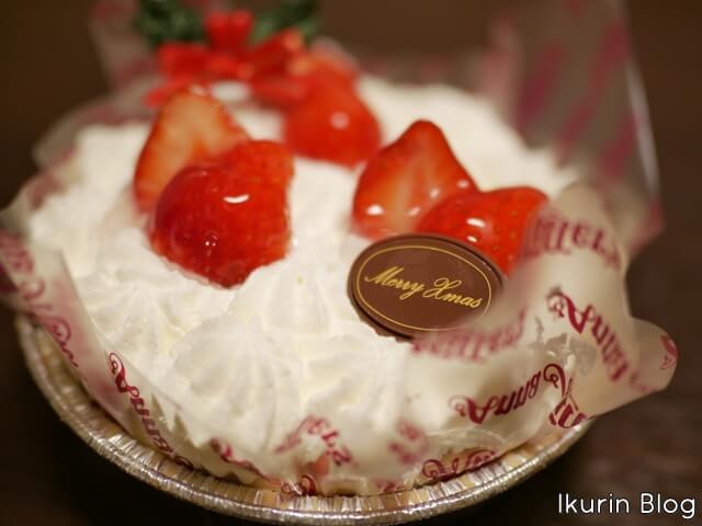 「クリスマスケーキ」イクリンブログ