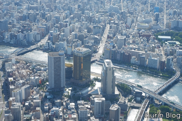 東京スカイツリー「展望台・アサヒビール本社」イクリンブログ