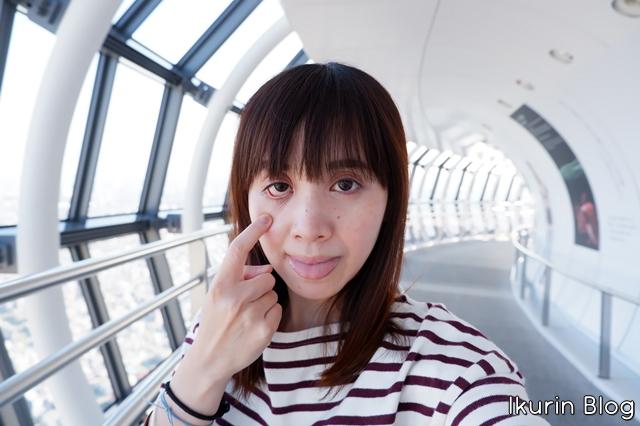 東京スカイツリー「変顔1」イクリンブログ