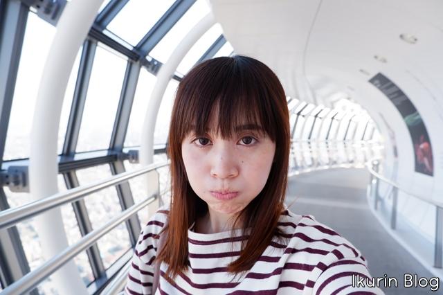 東京スカイツリー「変顔3」イクリンブログ