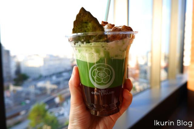 東京スカイツリー「抹茶ラテ」イクリンブログ