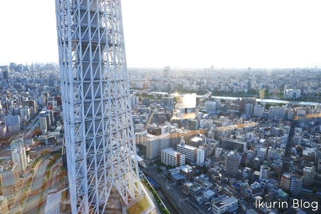 東京スカイツリー「スカイツリーと街」イクリンブログ