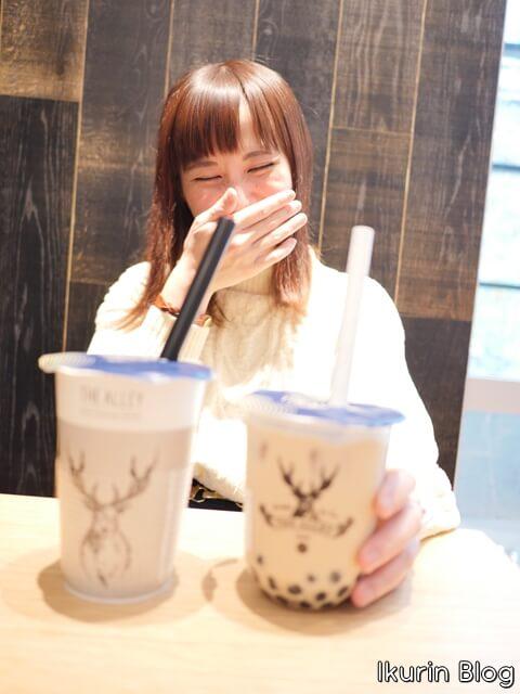 東京「誠品生活日本橋・THE ALLEYのタピオカ」イクリンブログ