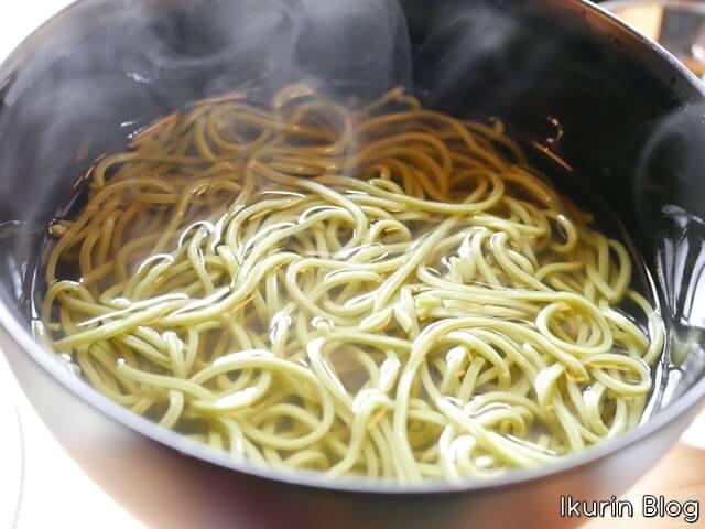 京都・宇治・中村藤吉本店「茶そば」イクリンブログ