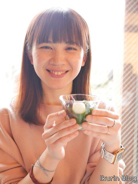 京都・宇治・中村藤吉本店「抹茶ゼリーとイクリン」イクリンブログ