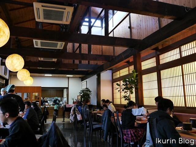 京都・宇治・中村藤吉本店「カフェ店内」イクリンブログ