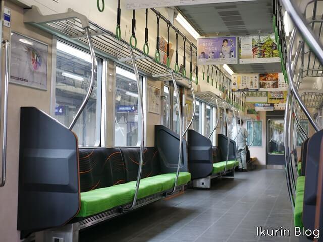 京都・宇治「電車の車内」イクリンブログ