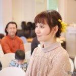 結婚誓約式「イクリン横顔写真2」イクリンブログ
