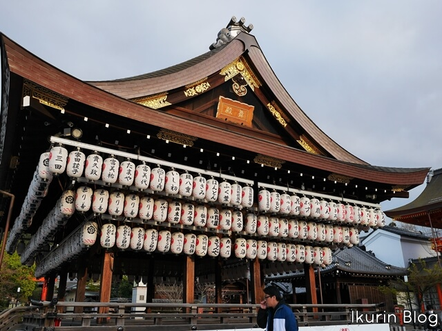 京都・八坂神社「舞殿」イクリンブログ
