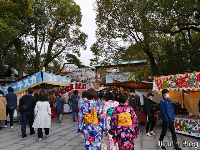 京都・八坂神社「境内」イクリンブログ
