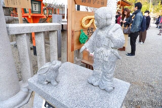 京都・八坂神社「大国主命」イクリンブログ