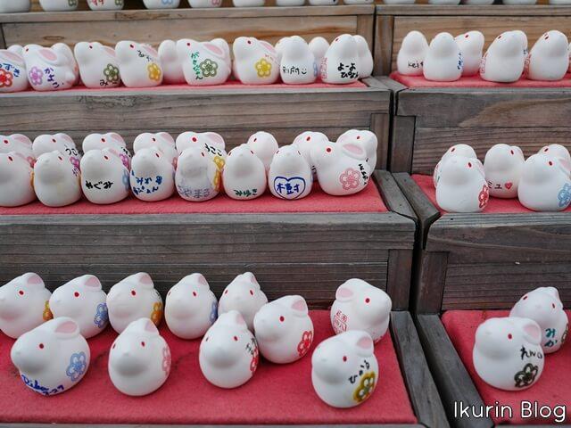 京都・八坂神社「因幡の白ウサギ」イクリンブログ
