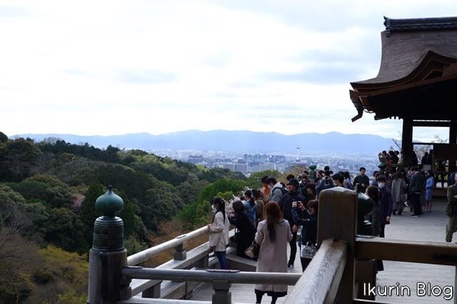 京都・清水寺「清水の舞台」イクリンブログ