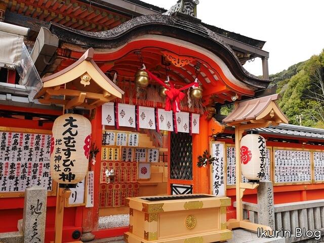 京都・清水寺「地主神社・社殿」イクリンブログ