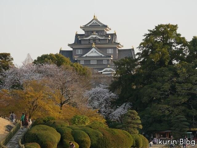 日本・岡山「後楽園と岡山城」イクリンブログ