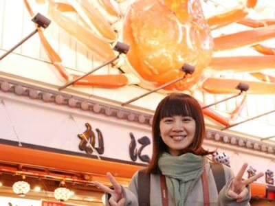 大阪道頓堀「かに道楽」イクリンブログ