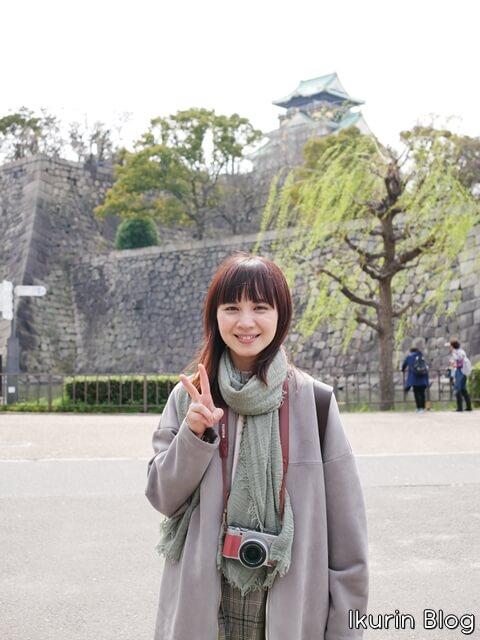 大阪城公園「大阪城とイクリン」イクリンブログ