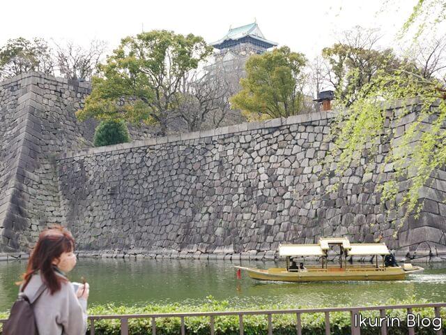 大阪城公園「大阪城とイクリンと屋形船」イクリンブログ