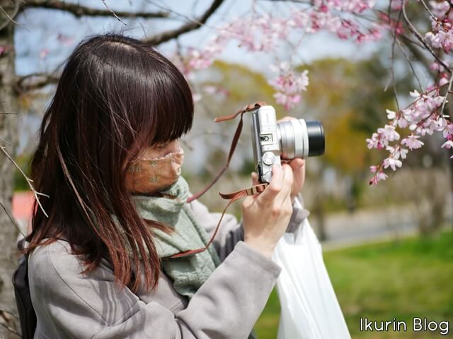 大阪城公園「サクラを撮るイクリン」イクリンブログ