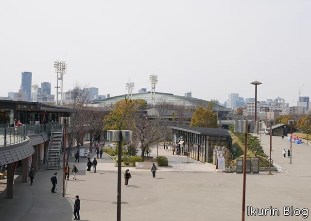 大阪城公園「ジョー・テラス・オオサカ」イクリンブログ