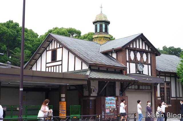 リラックマストア原宿「旧駅舎」イクリンブログ