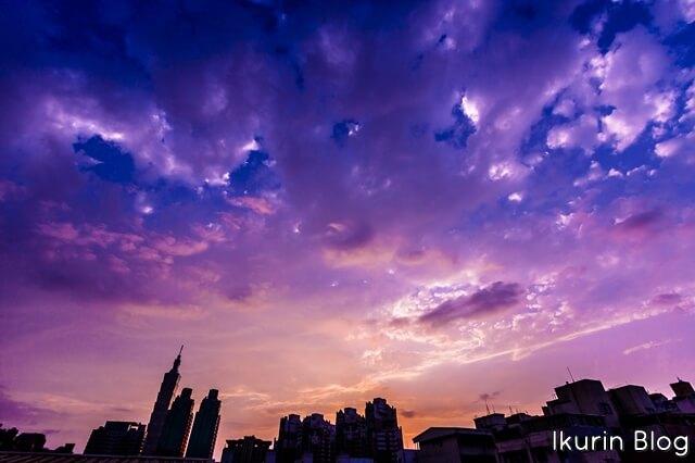 台湾・台北「101とマジックアワー赤」イクリンブログ