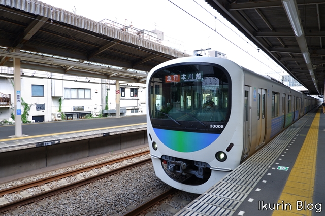 埼玉・新所沢「電車(train)」ikurinblog