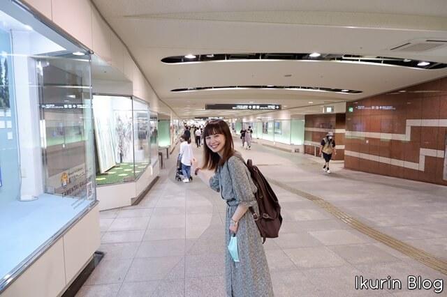 イオンモール岡山「駅から直結の道」イクリンブログ