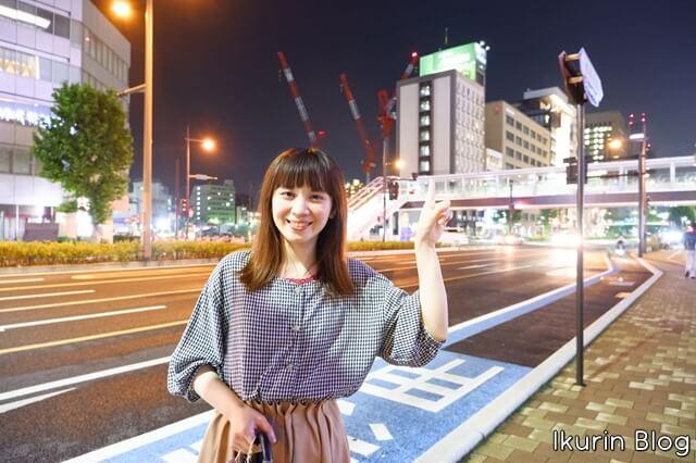 Hotel Areaone 岡山「ホテルの場所」イクリンブログ