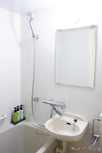 Hotel Areaone 岡山「シャワーとDHCのアメニティ」イクリンブログ