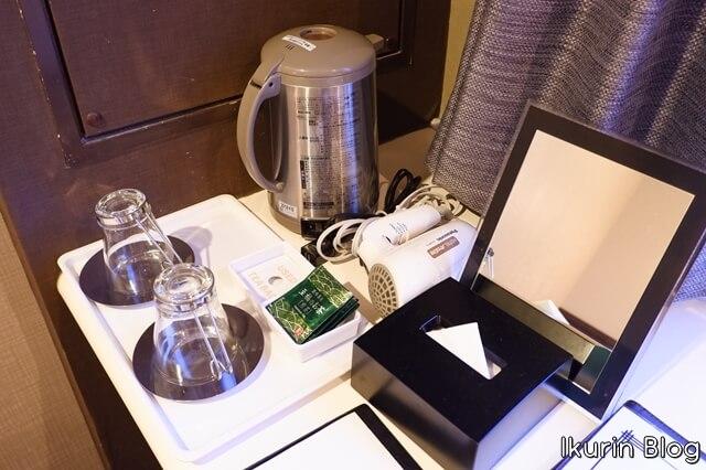 Hotel Areaone 岡山「お茶」イクリンブログ