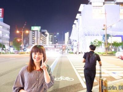 「岡山イオン前のイクリン」イクリンブログ