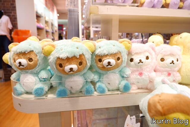 リラックマストア東京駅店「リラックマのきょうりゅうごっこ2」イクリンブログ
